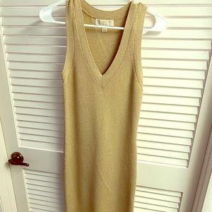 MICHAEL Michael Kors Gold Dress